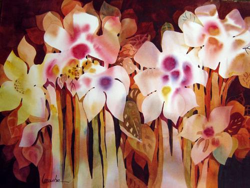 Louise Larouche, aquarelliste